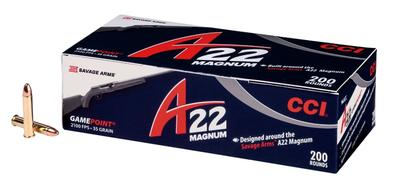 A22 22 MAG  35 GR GAMEPOINT 200 RD
