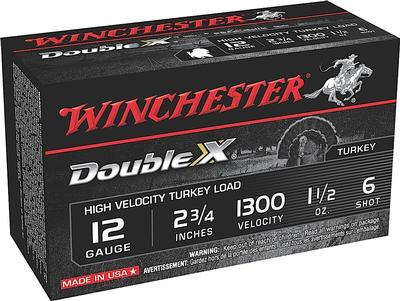 Winchester Ammo STH126 Double X Turkey 12 Gauge 2.75