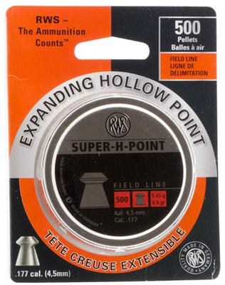 RWS 500CT. EXPANDING DOLLOW POINT PELETS