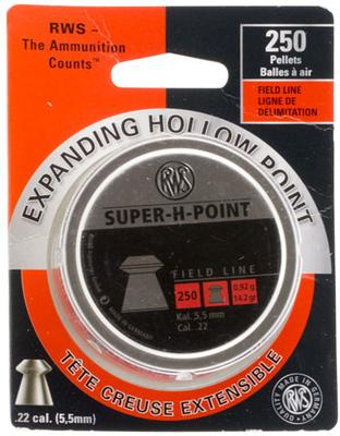 SUPER-H-POINT .22 CAL PELLETS