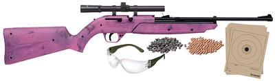 AIR RIFLE 177CAL PUMPMASTER PINK KIT