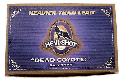 12GA  T  DEAD COYOTE  HEVI SHOT  3 1/2`