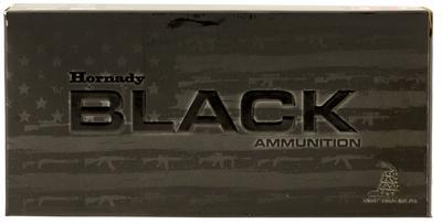 300 BLACKOUT 208 GR A MAX BLK 20 RD