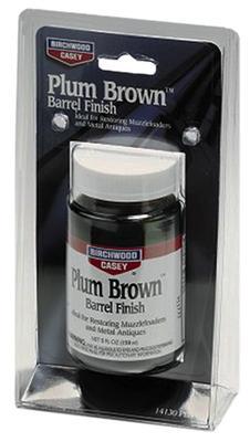 Birchwood Casey 14130 Plum Brown Barrel Finish 5 oz