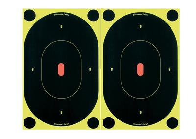 TARGET SHOOT-N-C 7 INCH OVAL B24-12