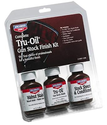 Birchwood Casey 23801 Tru-Oil Stock Finish Kit Wood Finish 9 Piece