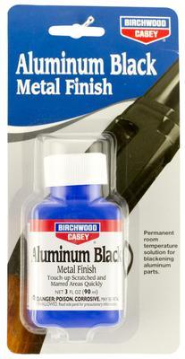 Birchwood Casey 15125 Aluminum Black Touch Up Black Metal Finish 3 oz