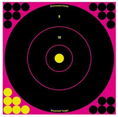 SHOOT-N-C 12 PINK ROUND