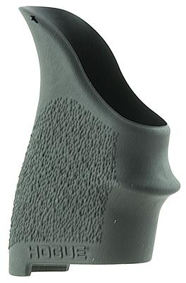 Hogue 18400 HandAll Beavertail Grip Sleeve S&W Shield 9; Ruger LC9; Glock 26 Textured Rubber Black