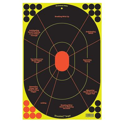 SHOOT NC 12`X18 HAND GUN TARGET