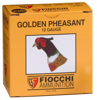 12GA 2-3/4 1-3/8OZ #5 GOLDEN PHEASANT
