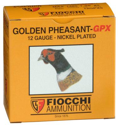12GA  4 SHOT  GOLDEN PHEASANT  2 3/4`