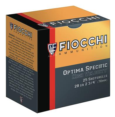 Fiocchi 28HV75 High Velocity Shotshell 28 Gauge 2.75