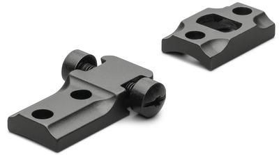 Leupold 50016 2-Piece Weaver Style Base For Remington 700 Matte Black