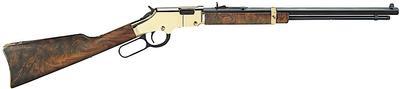 Henry H004V Golden Boy Standard Lever 17 Hornady Magnum Rimfire (HMR) 20