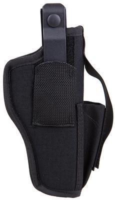 Blackhawk 40AM03BK  Ambi Sz 03 w/Mag Pouch Fits Belts to 1.75