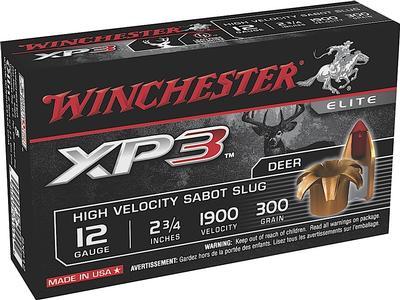 12GA 2-3/4 300GR SUPER XP3 SABOT SLUG