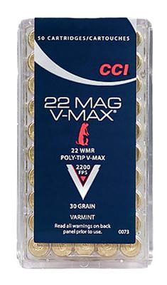22 MAG 22WINMAG VMAX 30GR 50RND