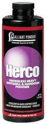 Alliant 150618 Herco Smokeless Heavy Shotgun/Pistol Powder 1lb 1 Canister