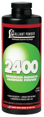 Alliant 150747 2400 Smokeless Magnum Handgun Powder 1lb 1 Canister