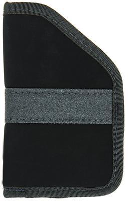 Blackhawk 40PP03BK Inside The Pocket Holster Suede Black