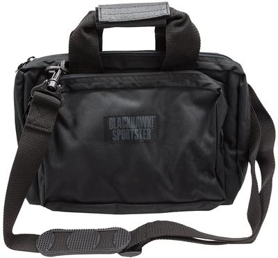 Blackhawk 73SB00BK Sportster Shooter's Bag 600D Polyester Black 13