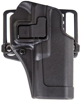 Blackhawk 410502BKL Serpa CQC Concealment LH Matte Finish 02 Glock 19/23/36 Polymer Black