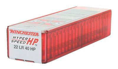 SUPER X 22LR CPHP 40GR 100RND