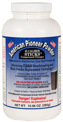 American Pioneer APP5050 Powder Compressed Stick Charges 50 gr 1