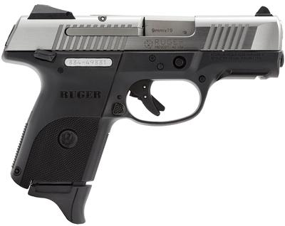 Ruger 3313 KSR9C Compact DAO 9mm 3.4
