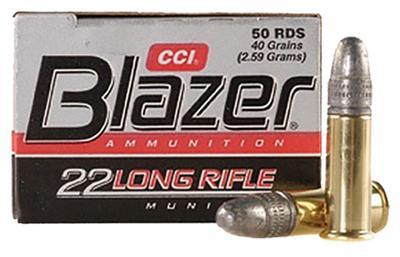 22 LR BLAZER 40 GR 50 RD