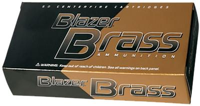 9MM 115 GR FMJ 50 RD BLAZER BRASS