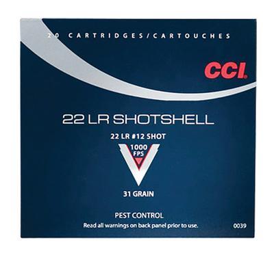 SHOTSHELL 22LRSS #12 31GR 20RND