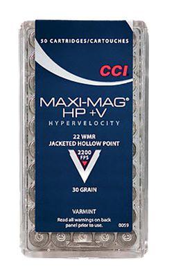 MAXI MAG 22WINMAG JHP 30GR 50RND