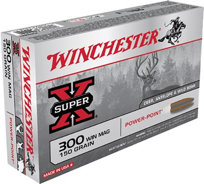 300WIN MAG 150GR PP SUPER-X