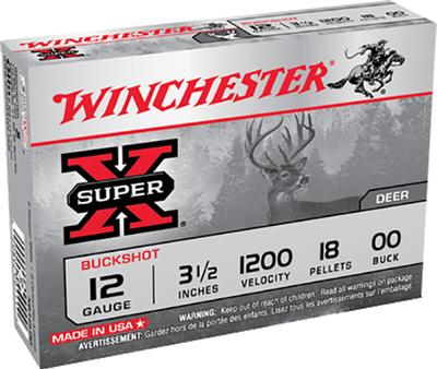 12GA 3-1/2 00 BUCK MAG SUPER X BUCKSHOT