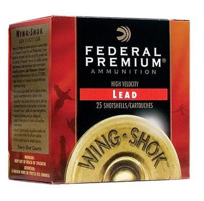 Fed P2566 Prem WingShok Magnum Lead 20 ga 2.75