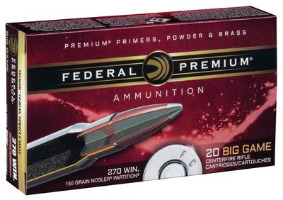 270WIN 150GR NOSLER PARTITION VITAL-SHOK