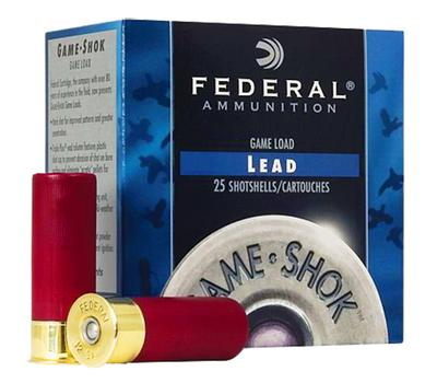 Federal H2044 Game Shok High Brass Lead 20 ga 2.75