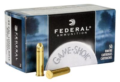 Federal 716 Standard 22 Long Rifle #12 Shot 25 GR 50Box/50Case