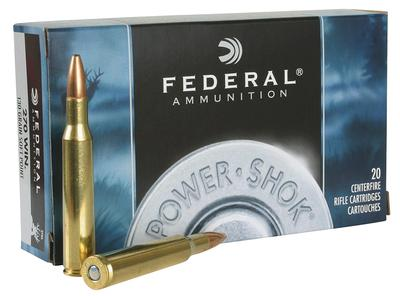 Federal 270A Power-Shok 270 Winchester 130 GR Soft Point 20 Bx/ 10 Cs