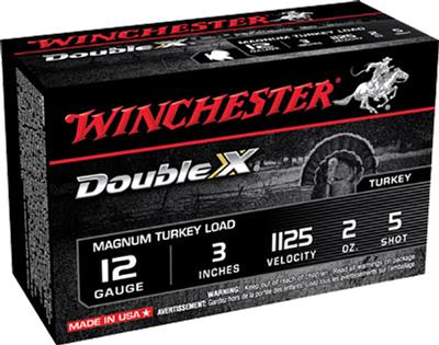 Winchester Ammo X123MXCT5 Double X Turkey 12 Gauge 3
