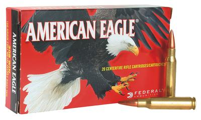 Federal AE3006N American Eagle 30-06 Springfield 150 GR Full Metal Jacket Boat Tail 20 Bx/ 25 Cs
