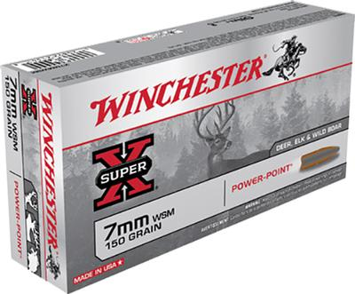 7MM WSM 150GR PP SUPER-X