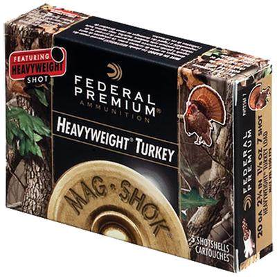 Federal PHT256F7 Mag-Shok Heavyweight Turkey 20 ga 2.75