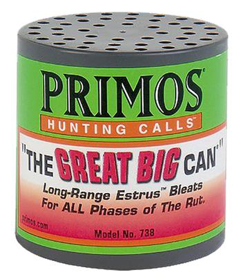 THE GREAT BIG CAN DEER CALL