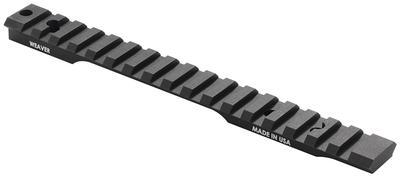 Weaver Mounts 99485 1-Piece Tactical Base Remington Short Action Black Finish