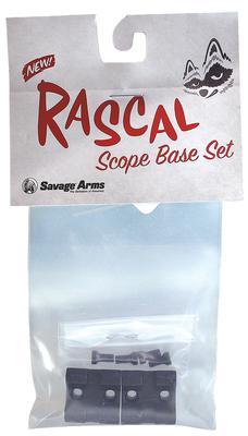 Savage  Scope Mount For Rascal Rail Kit Style Black Finish