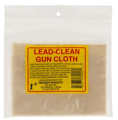 LEAD-CLEAN GUN CLOTH