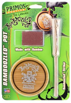 BAMBOOZLED POT SLATE STYLE TURKEY CALL